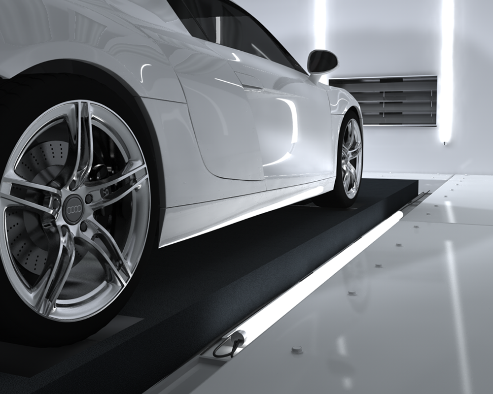 Blue Sauce Media 3D Audi R8 render