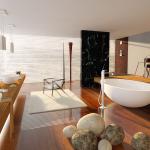 Blue Sauce Media 3D interior render