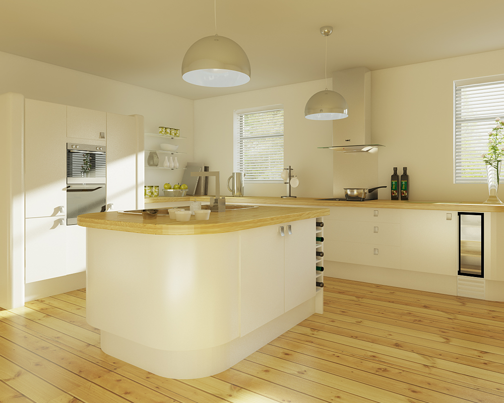 Blue Sauce Media 3D Kitchen Render