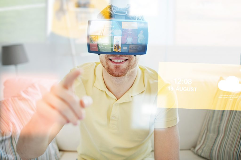 Blue Sauce Media VR Headset
